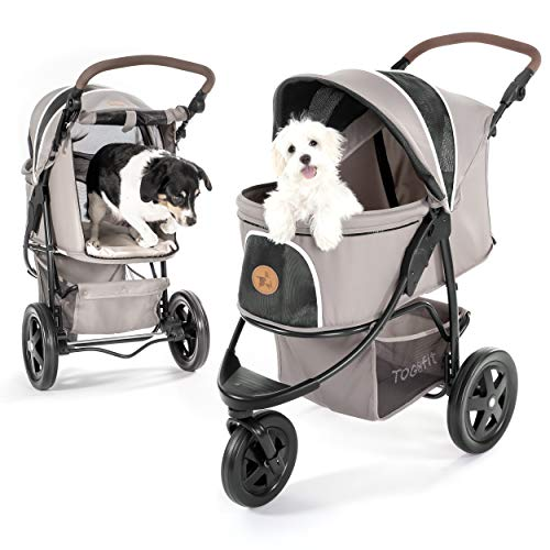 TOGfit P63607 Pet Roadster, grau